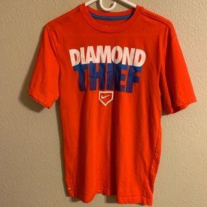 Men's Nike diamond thief tee size small